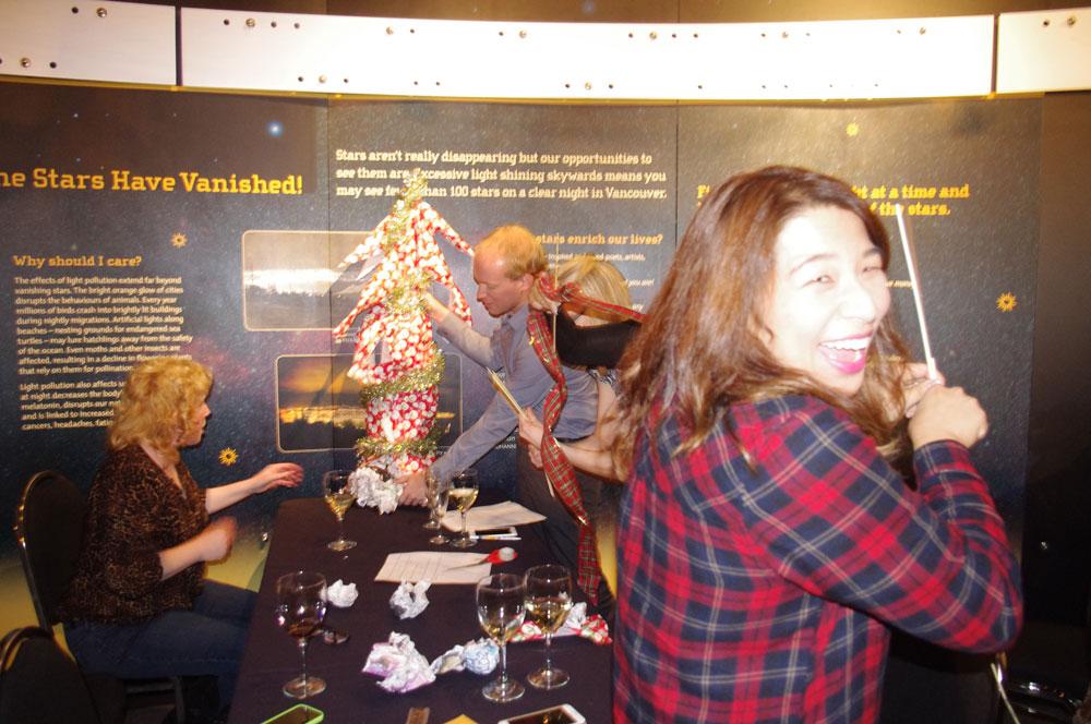 christmas tree christmas party