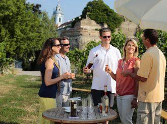 Wine tasting in Durnstein